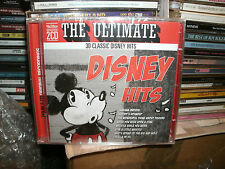 THE ULTIMATE DISNEY HITS,DOUBLE CD