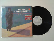 "Don Johnson ""Heartbeat"" LP GAT EPIC EPC 450103 1 Holland 1986  VG/VG+"
