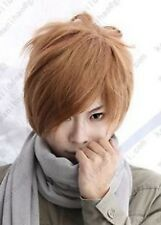 Death Note Light Yagami Short Brown Cosplay party Wig