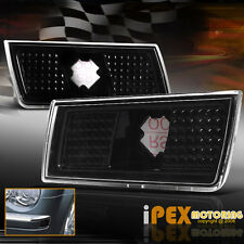 2004-2010 Chrysler 300/300C/SRT-8/Touring Bumper Side Marker Signal Light Black