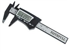 Faithfull FAICALDIG75 75mm 3inch mini digital vernier caliper