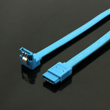 2 x SATA III 3 6GB/s Data Cable 20 Inch Straight Right Angle For HDD SSD