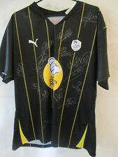Sheffield Wednesday Away Football Shirt Squad Signed by 11-12 COA /10464