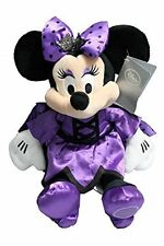 "Disney Store Minnie Mouse Halloween Witch Vampire Costume Plush Toy 12"" Doll NEW"
