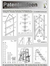 Leiter selbst bauen Technologie über 1860 S.