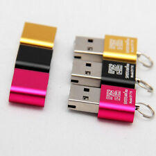 Portable High Speed Mini USB 2.0 Micro SD TF T-Flash Memory Card Reader AdapterJ