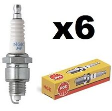 NGK BCPR7ES Spark Plug x6 SET for Nissan Skyline VL Commodore RB30 RB20DET Saab