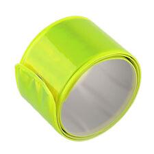 Vélo réfléchissant sécurité jambe pantalon clip strap faisceau bas ceinture haute qualité
