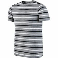 Nike Men's Size Medium  Dri-Fit Tailwind Striped Running Shirt 799137-011 $55