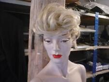 HARD CAP WIG from ROOTSTEIN mannequin BB4. Blonde quiff 067 hardcap