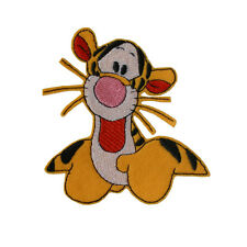 TIGGER Winnie The Pooh Embroidered Iron On Sew On Appliqué Felt Patch