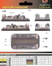 MRC 2x U.S. Navy USN LCAC Hovercraft 1:350 model kit Air cushion boat NEW set