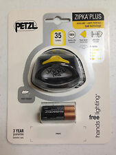 PETZL ZIPKA PLUS HEADLAMP NIP