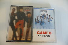 LOT DE 2K7 AUDIO TAPE CASSETTE CAMEO. CAMEOSIS / WORD UP!. BOITIERS CASSES.