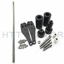 Motorcycle Frame Slider Mounting bolts Fit For Kawasaki ZX 10R 2006-2007 Black
