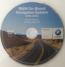 2008 BMW 335i 335xi 335Ci 335Cic M3 Navigation DVD # 555 Map Edition 2007.2 OEM
