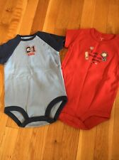 NWT Carters Sports Onesies 9 Months