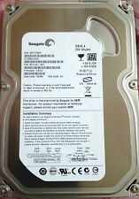 "250 GB SATA HDD INTERNAL DESKTOP HARD DISK DRIVE 3.5""(SEAGATE/W.D.) 1 Y WARRANTY"