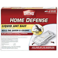 Ortho 0464812 Home Defense Ready-To-Use Liquid Ant Bait, 6 Pack