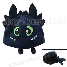 How To Train Your Dragon Night Fury Toothless Warm Soft Hat Cap Cosplay