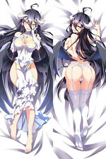 "59"" Japan Hot Anime OVERLORD Albedo Dakimakura Hugging Body Pillow Cover Case"
