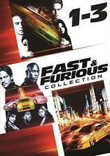 The Fast and the Furious Trilogy Collection 1-3 (DVD 3-Disc) EXCELLENT CONDITION