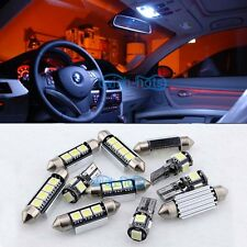 White LED Interior Light Kit For Volkswagen MK5 GTI Golf Rabbit W/ Red Footwell