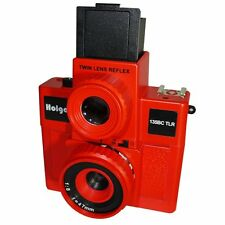 USD - HOLGA 135BC TLR / 135BCTLR Twin Lens Reflex 35mm Film Camera RED