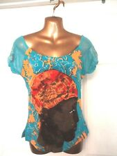 Savage Culture Ethnic T Shirt Size S