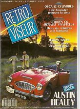 RETROVISEUR 42 AUSTIN HEALEY OSCA 12 CYL CITROEN C6 RENAULT VIVASTELLA INDIAN 42