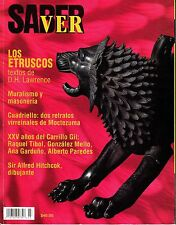 Saber Ver Mexican Magazine September October 1999 D.H. Lawrence Alfred Hitchcock