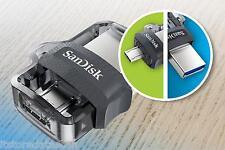 SANDISK 16 GB ULTRA DUAL USB m3.0 OTG PEN DRIVE ..