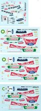 LOT DECALS 1/43 FORD FOCUS RS WRC - COLORADO  DCV026