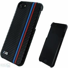 "BMW M Carbon Look Back Cover iPhone 7 4,7"" Hard Case Schutzhülle Tasche Handy"