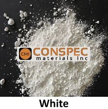 25 lbs WHITE Concrete Curbing Color Pigment Dye Cement Molds Tile Pottery Pavers
