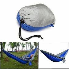 Portable Durable Nylon Fabric Parachute Hammock 2 Person Travel Outdoor Camping
