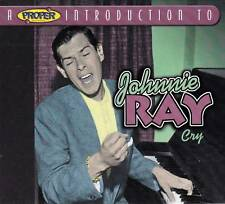 A Proper Introduction to Johnnie Ray - Cry  (NEW CD)