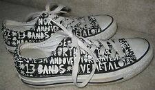 Converse Chuck Taylor AS Print Ox 117336F Black/White Canvas US Mens 5 Wo's 7