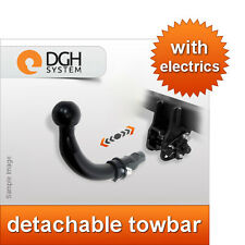 Detachable towbar Vauxhall Combo C 2002/2012 + 7-pin electric kit