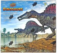 2015 Upper Deck DINOSAURS trading cards 100-card base set