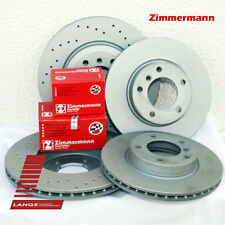 Zimmermann Bremsen Beläge Audi A4 Quattro  288mm VA 255mm HA Sport KIT TOP!!!!