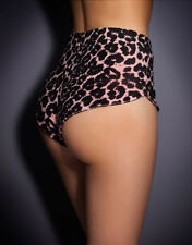 AGENT PROVOCATEUR NEW TABBY SHORTS LEOPARD SIZE LARGE/12-14 BNWT RRP £110