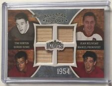 2016 Lumber King Horton Howe Béliveau Pronovost Stick /5 All Star History 1954