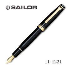 Sailor Professional Gear Slim BK Fine (F) nib Gold SAPPORO 14k fountain pen