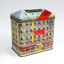 HEDIARD TIN PARIS LUXURY GOURMET BOUTIQUE SHOP HOUSE SHAPED CONTAINER