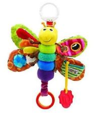 HOT Baby's Soft Plush Hang Toy # Rattle Crinkle Bell Colored Butterfly