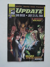 SAN DIEGO COMICCON UPDATE 2004 #2 - Identity Crisis