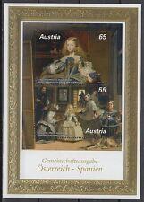 Österreich Austria 2009 ** Bl.56 Gemälde Paintings Velázquez [sr1818]