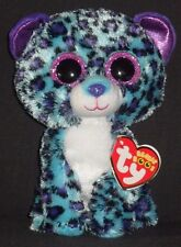 "TY BEANIE BOOS - LIZZIE the 6"" LEOPARD - CLAIRE'S EXCLUSIVE - MINT with MINT TAG"
