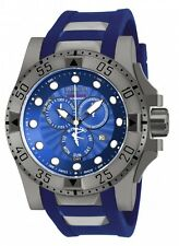 New Mens Invicta 18689 Excursion Swiss Made Chronograph Rubber Strap Watch